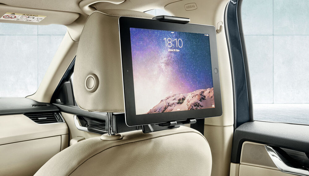 SKODA OCTAVIA Tablet-Halter Smart-Hold-System
